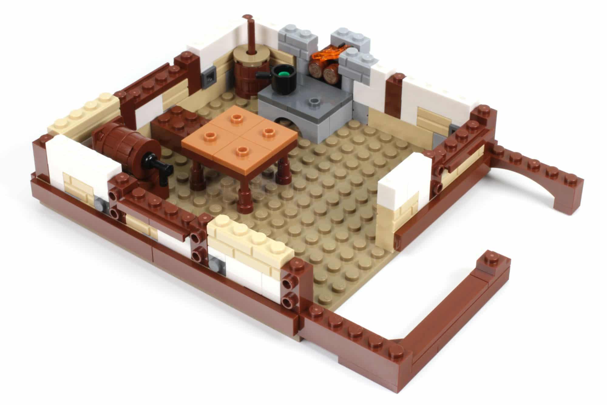 LEGO Ideas 21325 Mittelalterliche Schmiede Bauabschnitt 6 1
