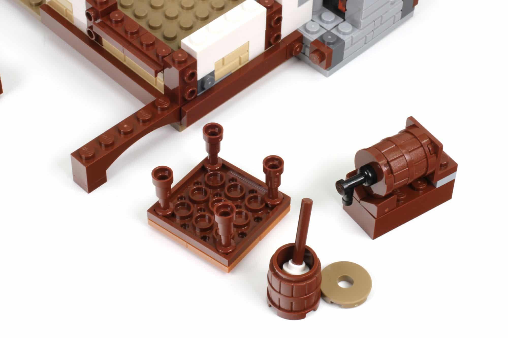 LEGO Ideas 21325 Mittelalterliche Schmiede Bauabschnitt 6 3