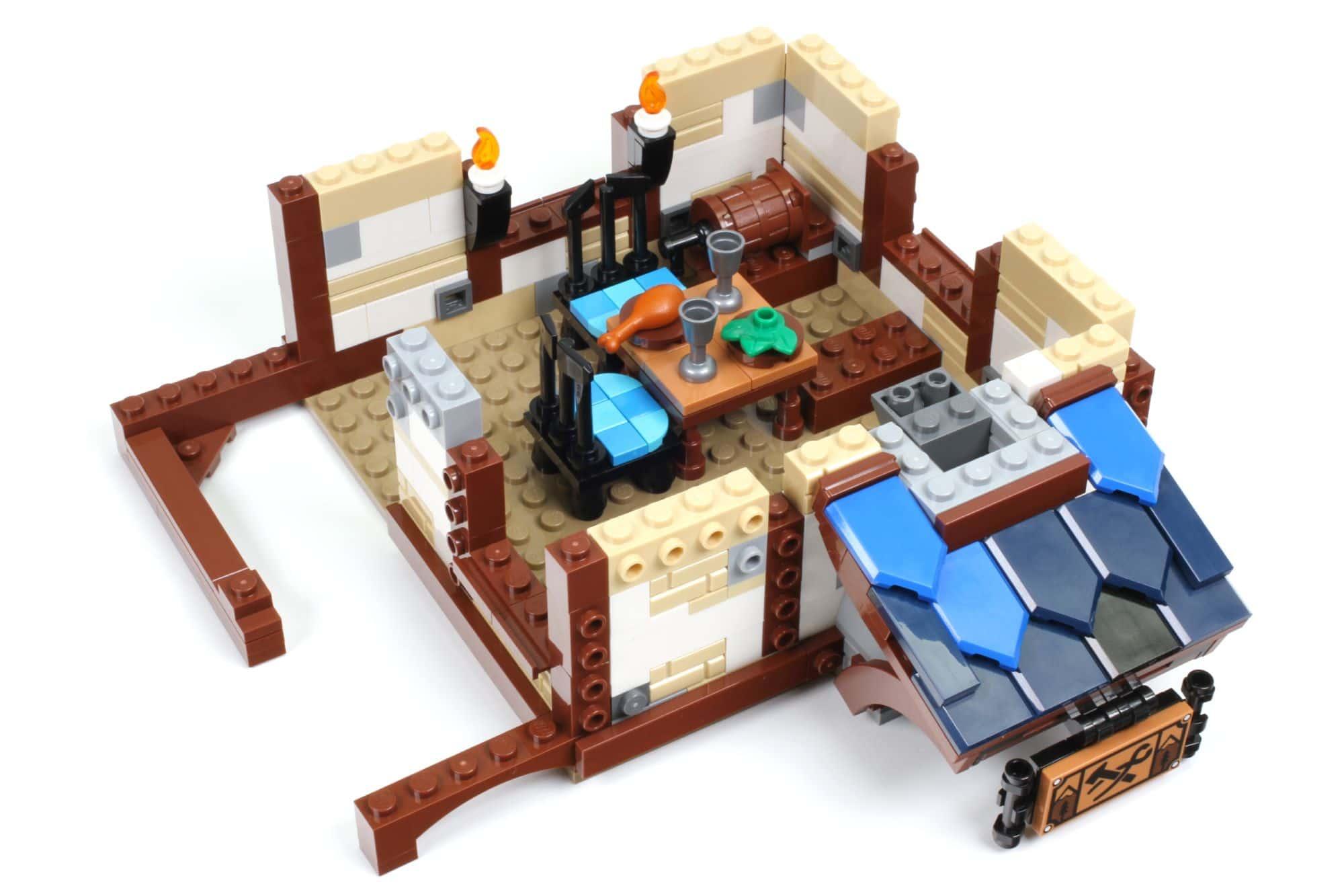 LEGO Ideas 21325 Mittelalterliche Schmiede Bauabschnitt 7 1