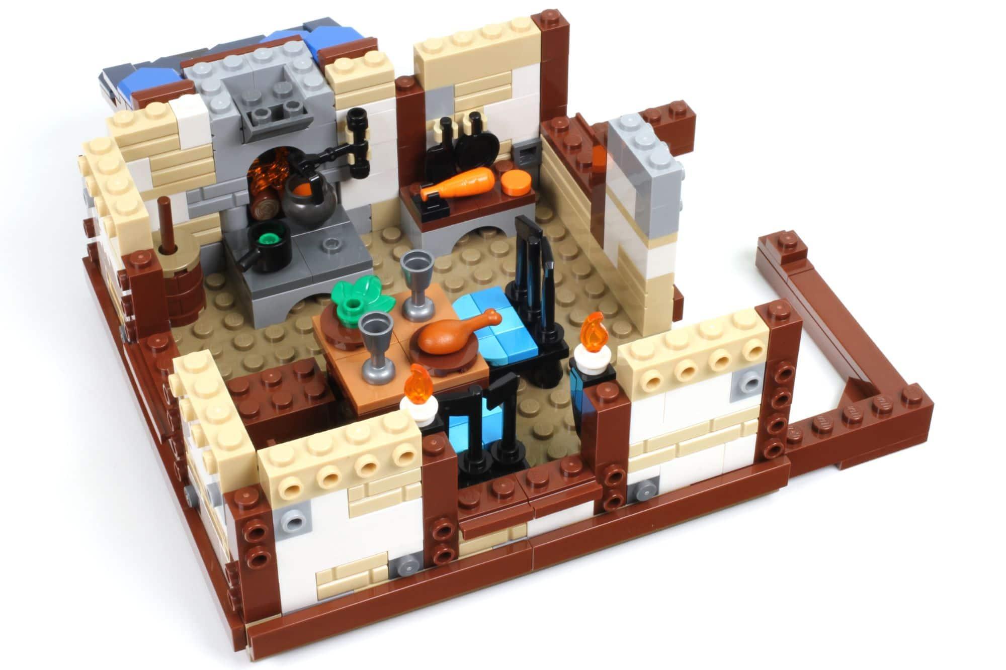 LEGO Ideas 21325 Mittelalterliche Schmiede Bauabschnitt 7 2