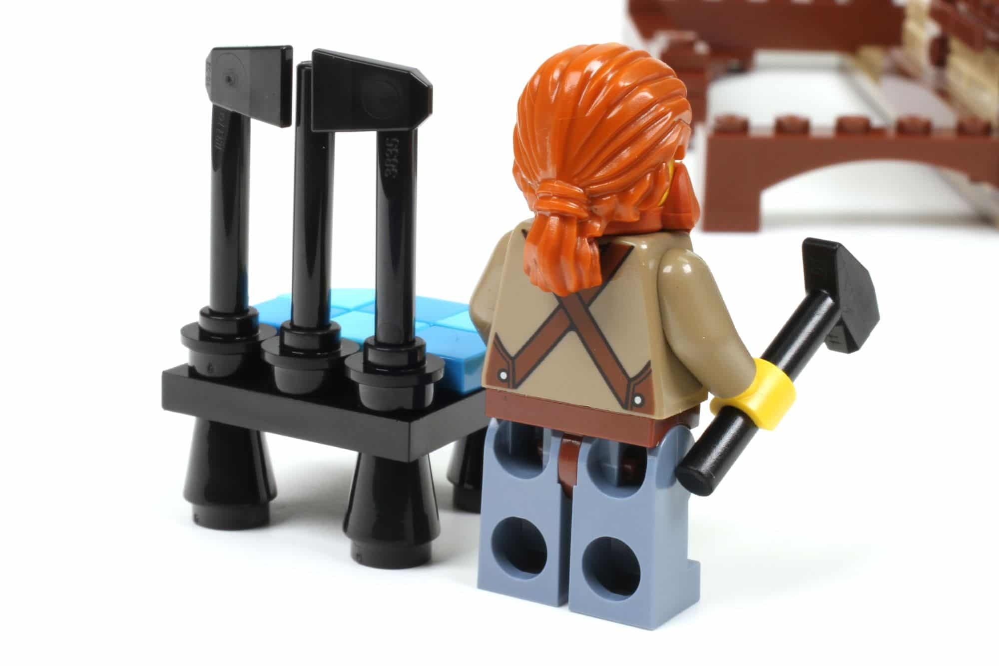 LEGO Ideas 21325 Mittelalterliche Schmiede Bauabschnitt 7 7