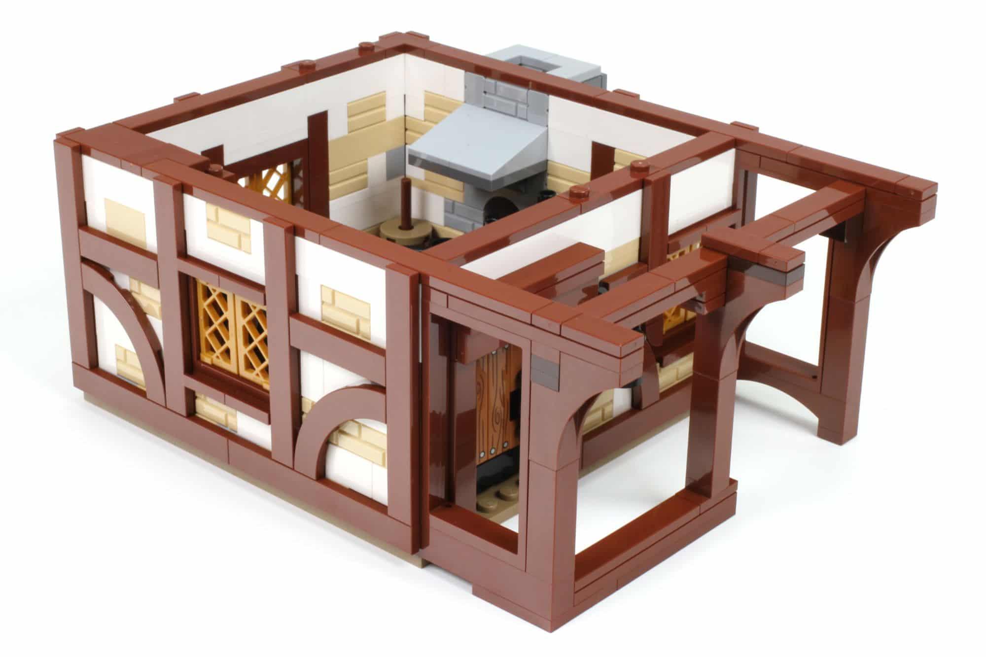 LEGO Ideas 21325 Mittelalterliche Schmiede Bauabschnitt 8 1