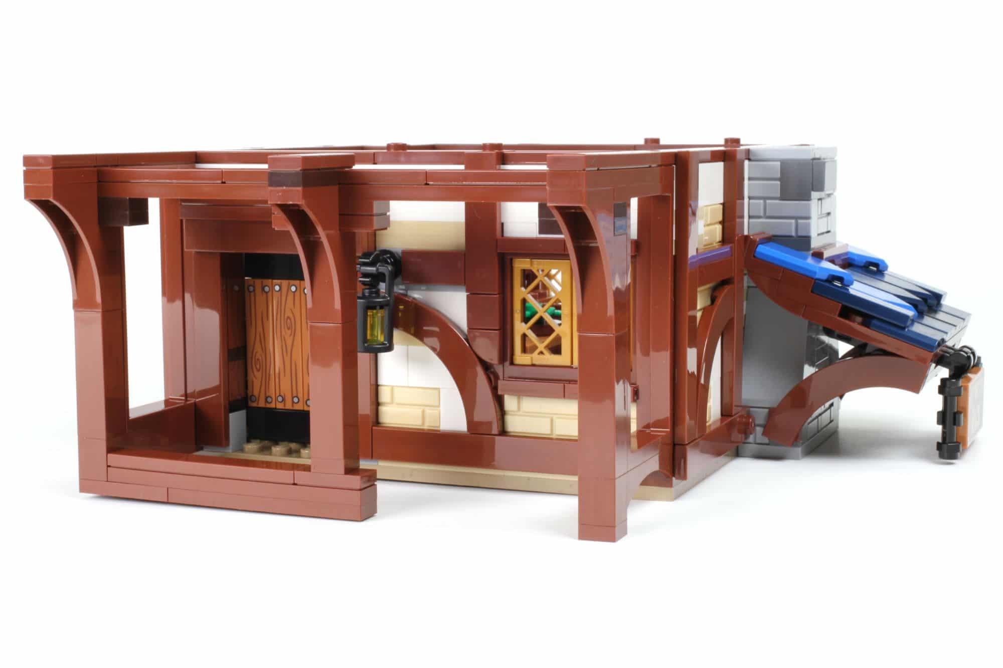 LEGO Ideas 21325 Mittelalterliche Schmiede Bauabschnitt 8 2
