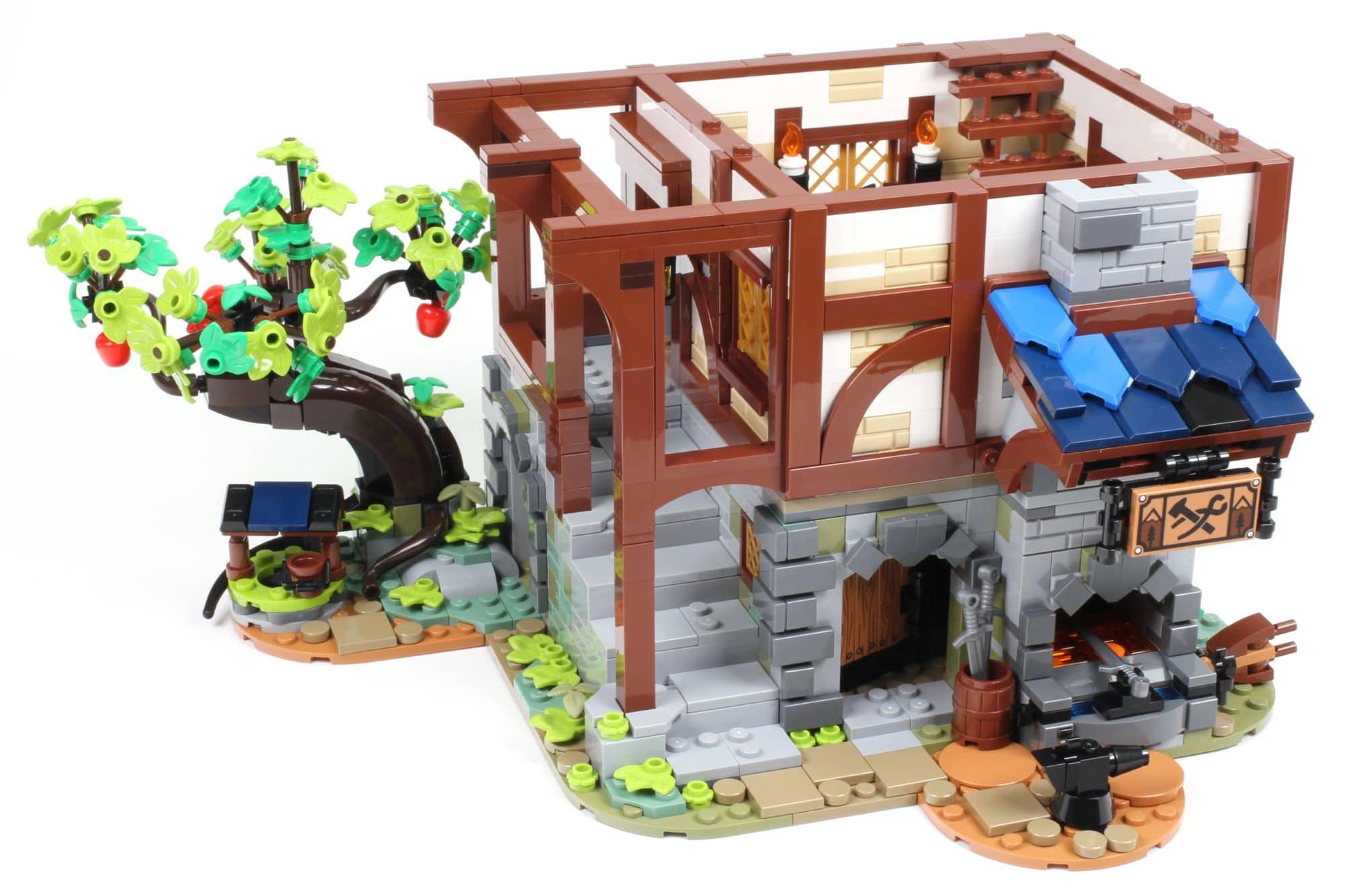 LEGO Ideas 21325 Mittelalterliche Schmiede Bauabschnitt 8 5