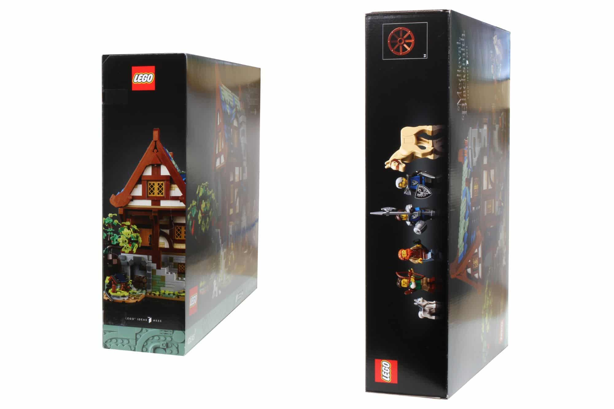 LEGO Ideas 21325 Mittelalterliche Schmiede Box 3