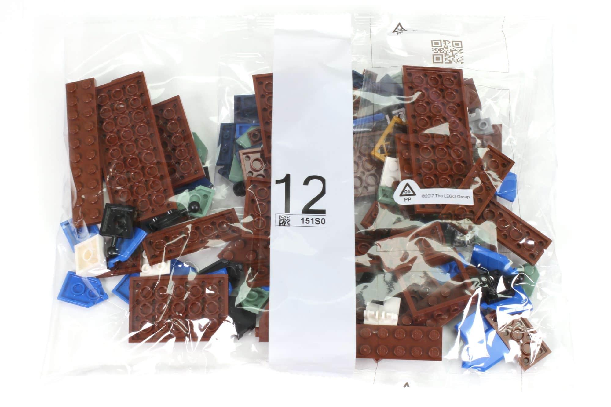 LEGO Ideas 21325 Mittelalterliche Schmiede Inhalt 12