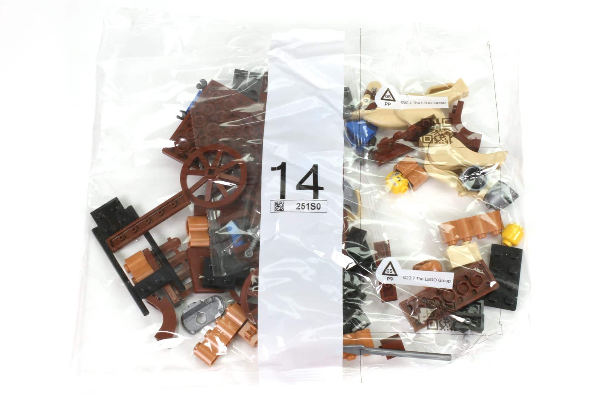 LEGO Ideas 21325 Mittelalterliche Schmiede Inhalt 14