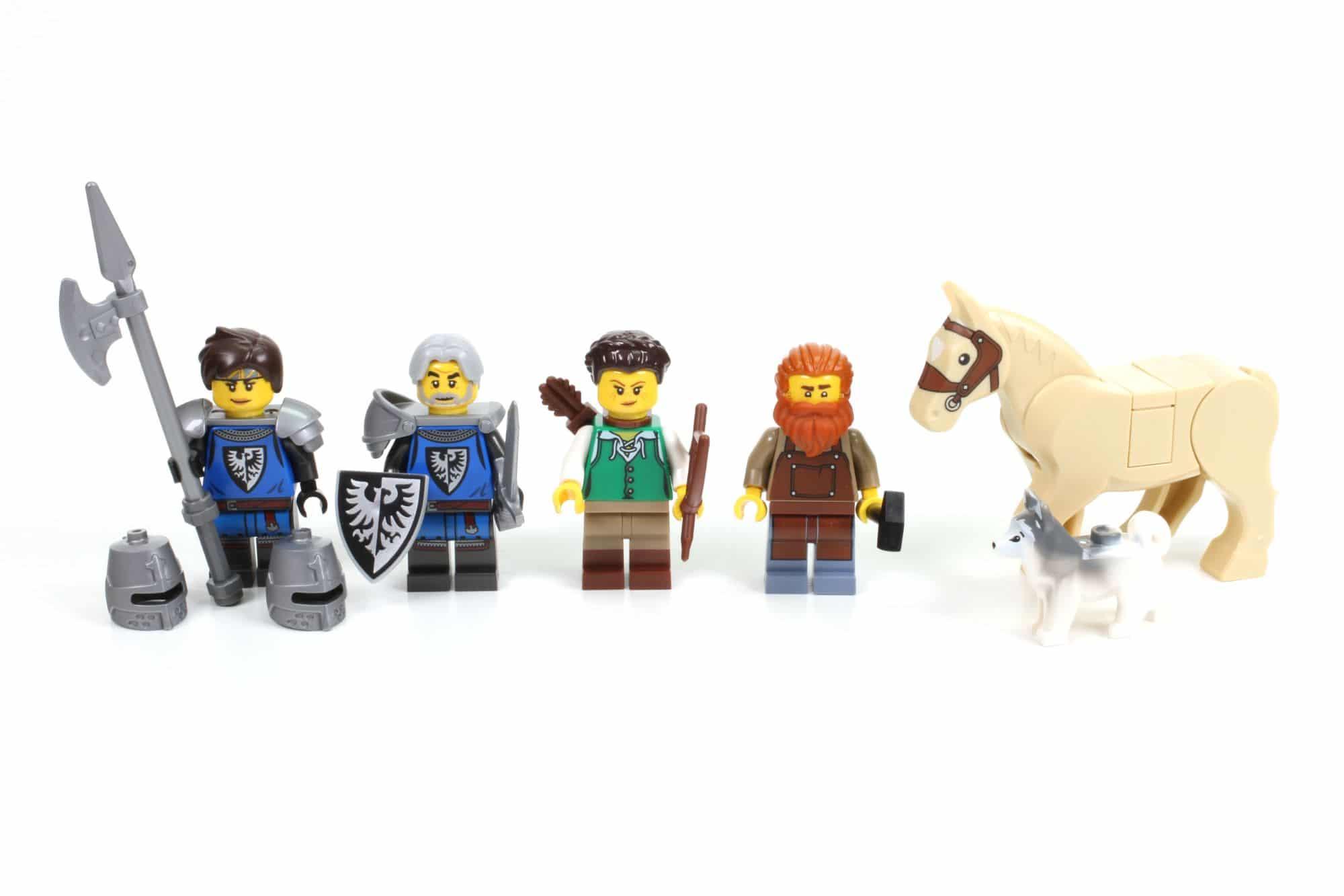 LEGO Ideas 21325 Mittelalterliche Schmiede Minifiguren Und Tiere