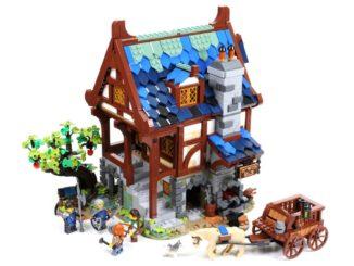 LEGO Ideas 21325 Mittelalterliche Schmiede Titel