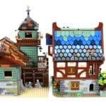 LEGO Ideas 21325 Mittelalterliche Schmiede Vergleich Angelladen 3