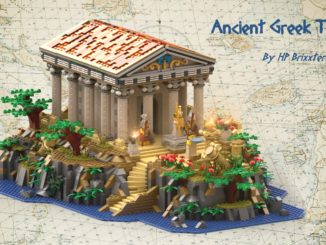 LEGO Ideas Ancient Greek Temple (1)