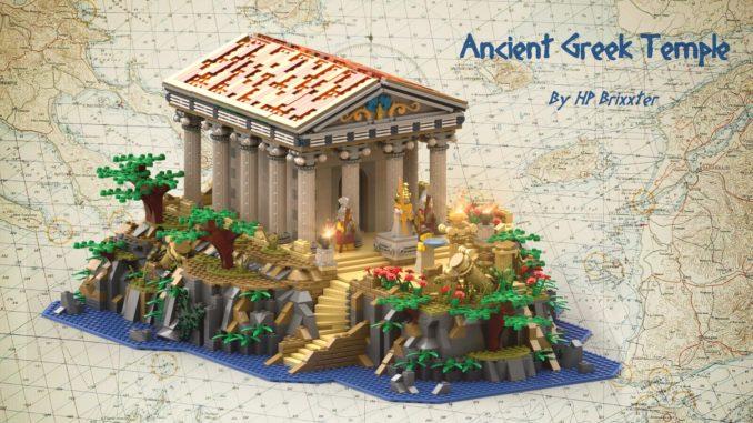 LEGO Ideas Ancient Greek Temple (1)