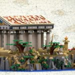 LEGO Ideas Ancient Greek Temple (3)