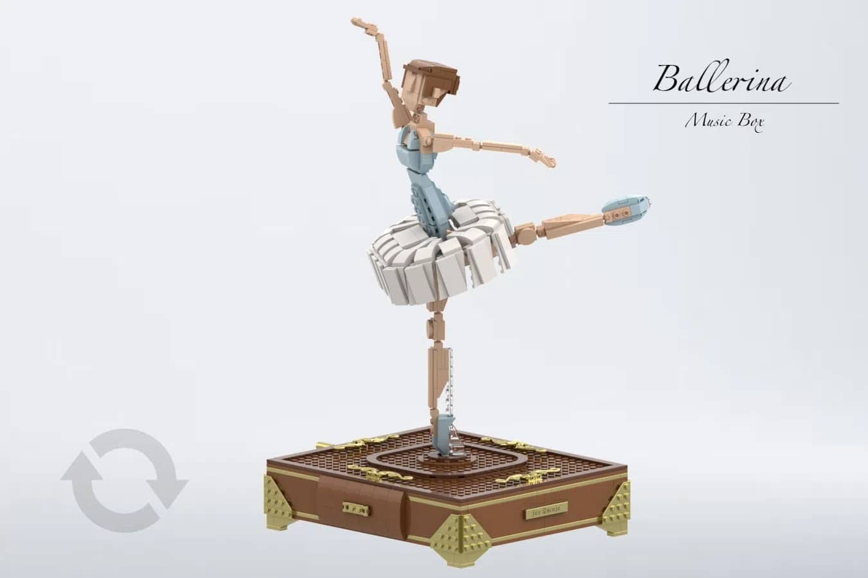 LEGO Ideas Contest Sports Ballerina