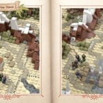 LEGO Ideas Map Of Middle Earth (2)