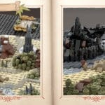 LEGO Ideas Map Of Middle Earth (3)