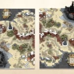 LEGO Ideas Map Of Middle Earth (6)
