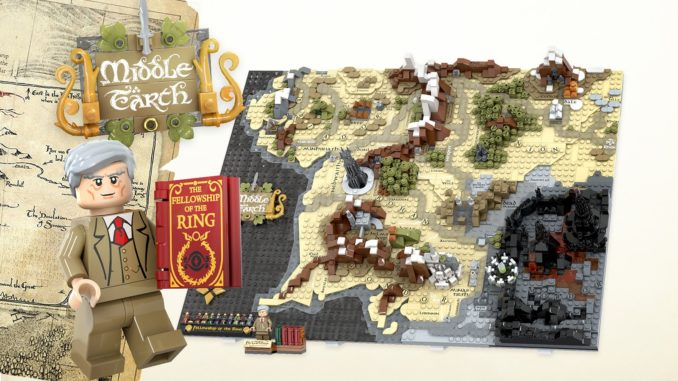 LEGO Ideas Map Of Middle Earth (7)