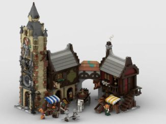 LEGO Ideas Medieval Marketplace (1)