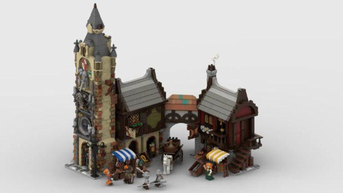 LEGO Ideas Medieval Marketplace (1)