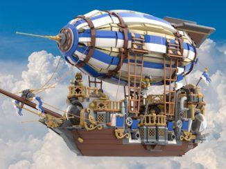 LEGO Ideas Steampunk Airship (1)