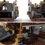 LEGO Ideas Steampunk Airship (10)