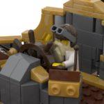 LEGO Ideas Steampunk Airship (11)