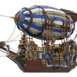 LEGO Ideas Steampunk Airship (2)