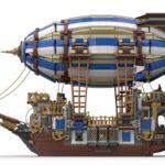 LEGO Ideas Steampunk Airship (3)