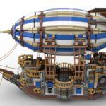 LEGO Ideas Steampunk Airship (4)