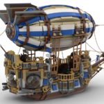 LEGO Ideas Steampunk Airship (5)