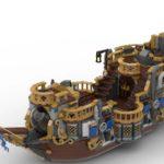 LEGO Ideas Steampunk Airship (6)