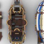 LEGO Ideas Steampunk Airship (8)