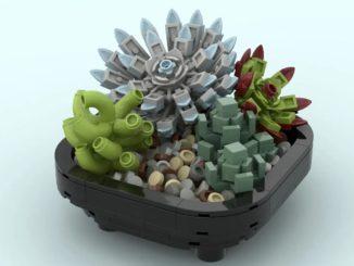 LEGO Ideas Succulent Garden (1)