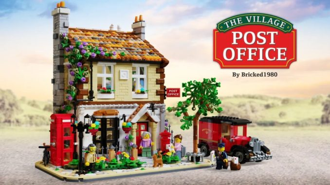 LEGO Ideas Village Post Office (1)