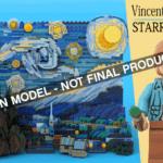 LEGO Ideas Vincent Van Gogh Starry Night