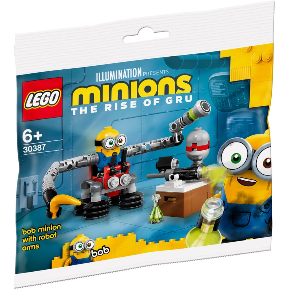 LEGO Minions 30387 Bob Minion With Robot Arms