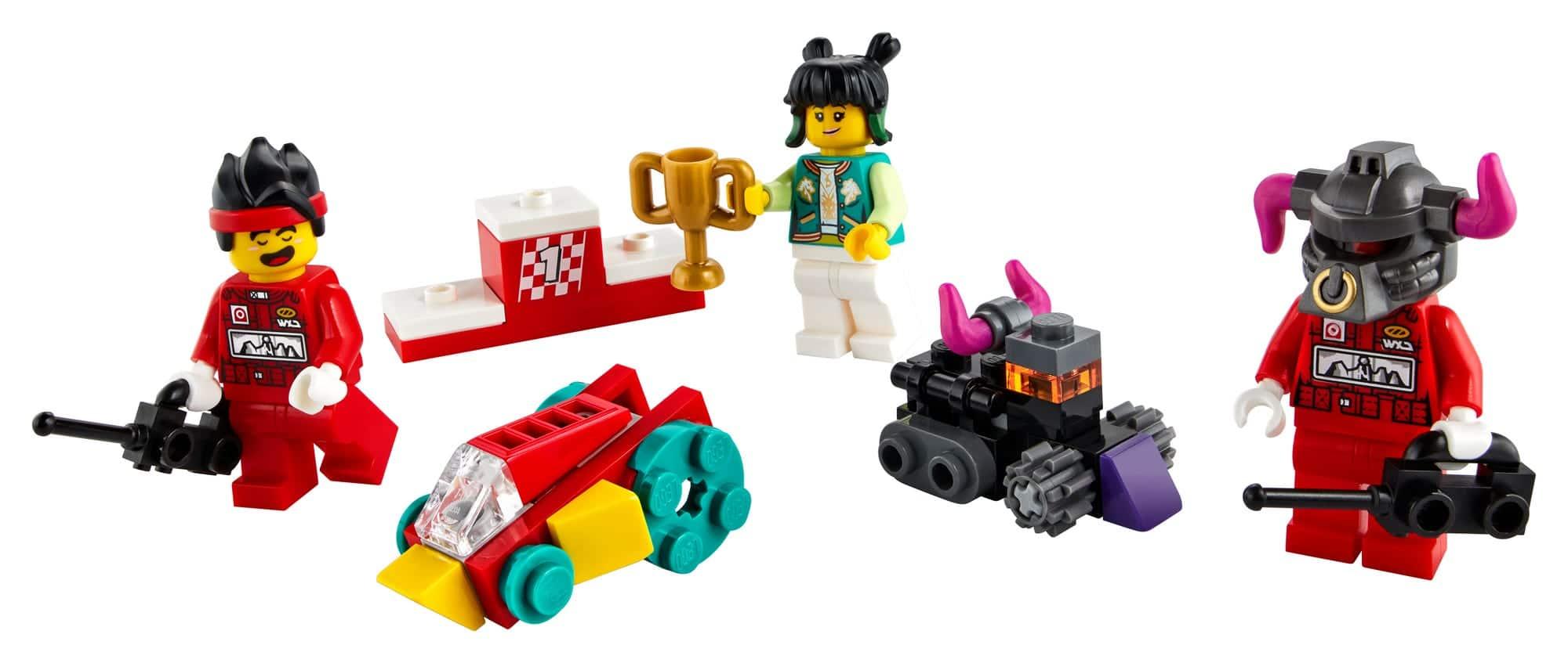 LEGO Monkie Kid 40472 Ferngesteuertes Monkie Kids Rennen