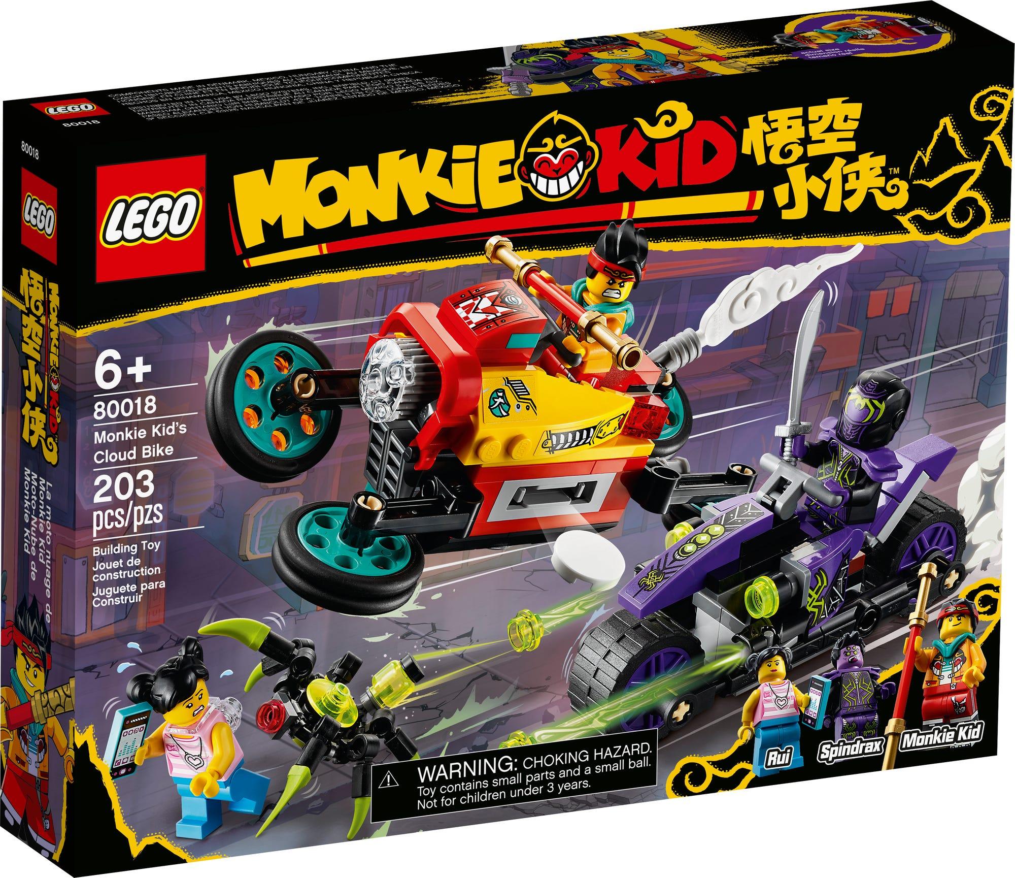 LEGO Monkie Kid 80018 Monkie Kids Wolken Bike 2