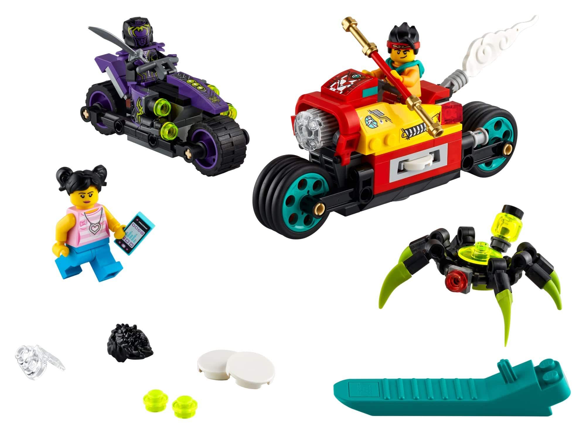 LEGO Monkie Kid 80018 Monkie Kids Wolken Bike 3