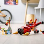 LEGO Monkie Kid 80019 Red Sons Inferno Jet 10