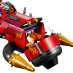 LEGO Monkie Kid 80019 Red Sons Inferno Jet 9
