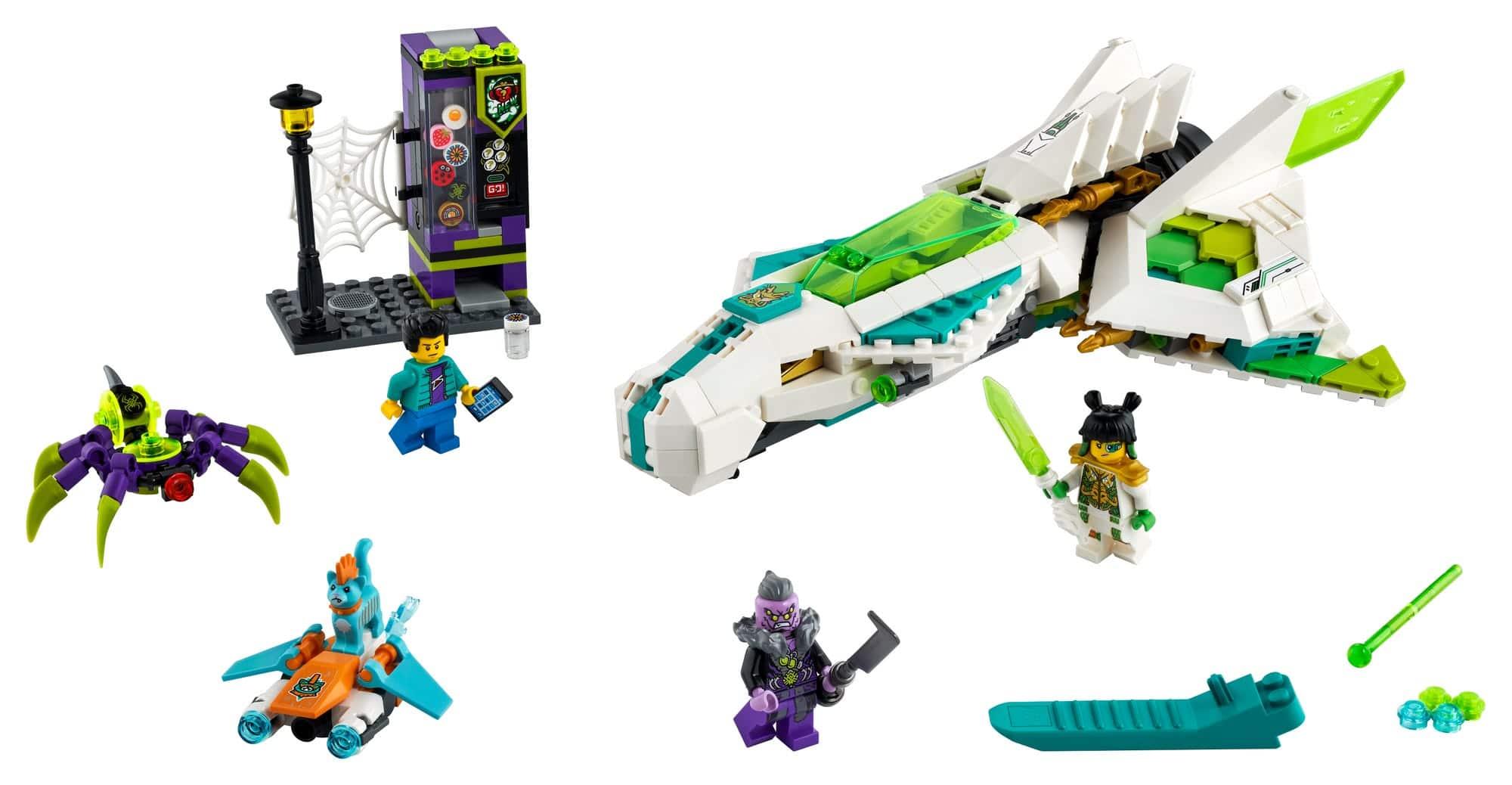 LEGO Monkie Kid 80020 Jet Des Weißen Drachenpferds 2
