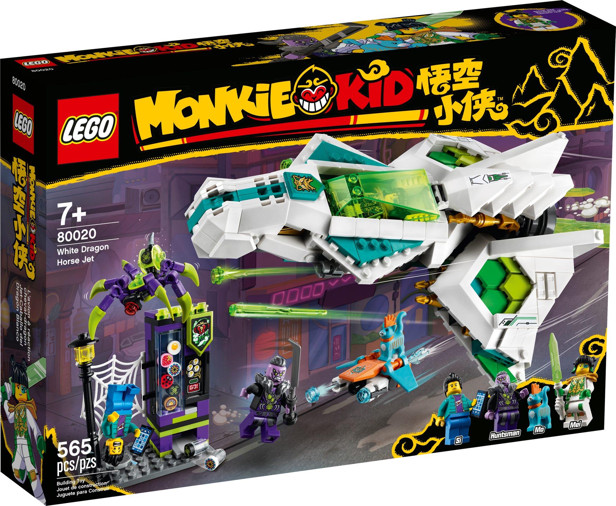 LEGO Monkie Kid 80020 Jet Des Weißen Drachenpferds 3