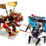 LEGO Monkie Kid 80021 Monkie Kids Löwenwächter 12