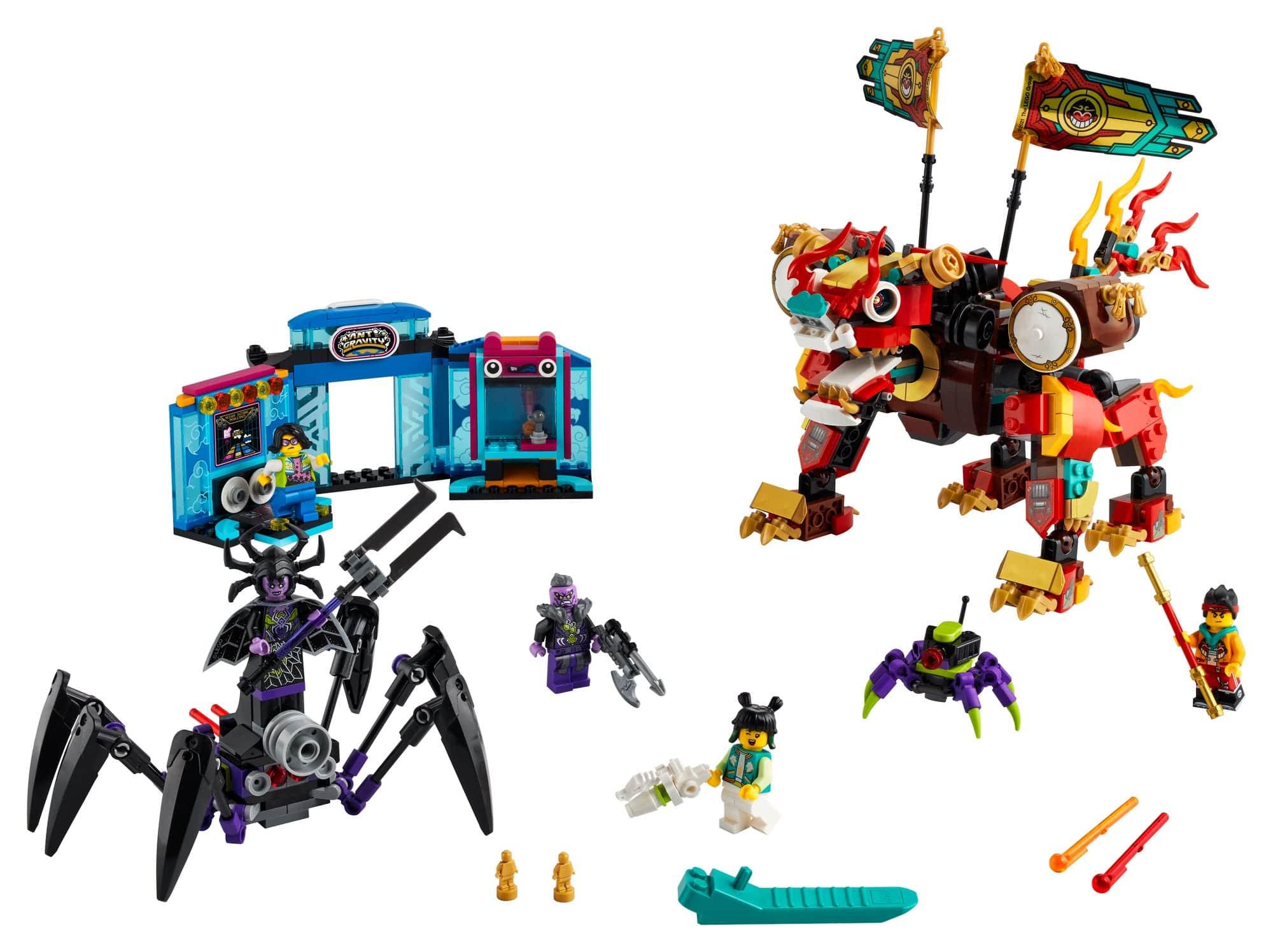 LEGO Monkie Kid 80021 Monkie Kids Löwenwächter 2