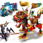LEGO Monkie Kid 80021 Monkie Kids Löwenwächter 7