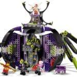 LEGO Monkie Kid 80022 Hauptquartier Der Spider Queen 1