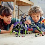 LEGO Monkie Kid 80022 Hauptquartier Der Spider Queen 10