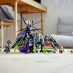 LEGO Monkie Kid 80022 Hauptquartier Der Spider Queen 11
